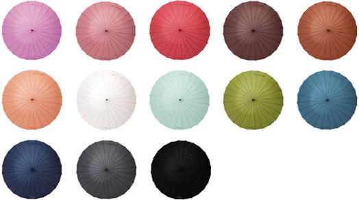 mabu ベーシック24本骨傘は13色
