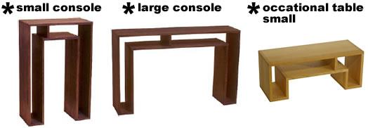 abode shoji small large console