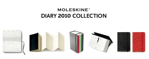 Moleskin 2010 スペシャルサイト