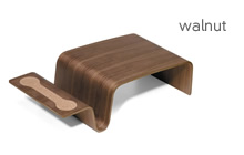 offi overlap tray walnut
