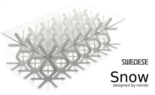 swedese(スウェデッセ) snow テーブル