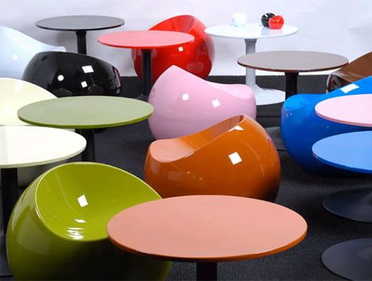 Ball Chair designed by Finn Stone