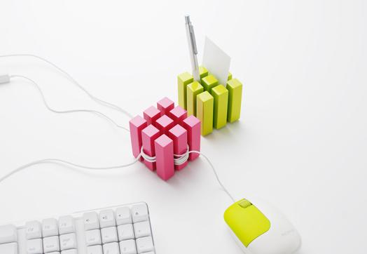 cube キューブ ケーブルホルダー
