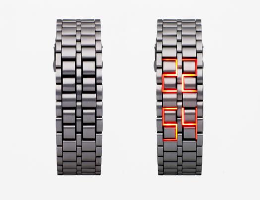 LED Watch designed by Hironari Tsuboi